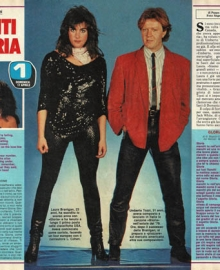 "Laura Branigan - Interview  TV Sorrisi e canzoni ""Italy"""