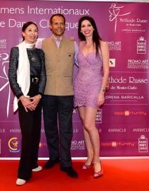 Lorena Baricalla, Eric Vu An, Luciana Savignano