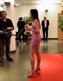 Lorena Baricalla interviewee par Monaco