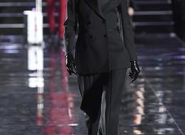 Doutzen Kroes in Ermanno Scervino at the LuisaViaRoma fashion show (photo  Estrop)