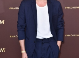 Cristiano Caccamo joins Magnum at its annual party at the Cannes Film festival. PRESS ASSOCIATION Photo. Picture date: Thursday May 16, 2019. Photo credit should read: David Parry/Magnum/PA Wire