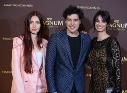 Cami Hawke; Cristiano Caccamo; Francesca Chillemi; Magnum; cocktail party;