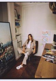 Claire Thomson x Mango Sneakers