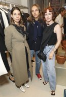 Irina Lakicevic, Alfred Bramsen & Julia Hobbs at MATCHESFASHION.COM X Bottega Veneta Event (40)