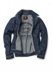 MCS trucker jacket in denim