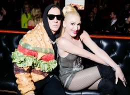 Jeremy Scott, Gwen Stefani photo by David X Prutting/BFA.com