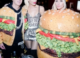 Jeremy Scott, Gwen Stefani, Katy Perry photo by David X Prutting/BFA.com;