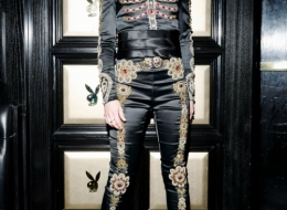 Leigh Lezark wearing Moschinophoto by David X Prutting/BFA.com;
