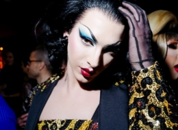 Violet Chachki Wearing Moschino photo by David X Prutting/BFA.com;