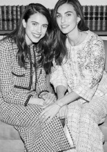 Margaret Qualley & Rainey Qualley Chanel Metiers D'Art 2019-2020