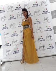 Optimism, joy and the Eles Italia chic style for Miss World Italy 2018