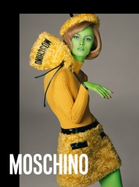 Rianne Van Rompaey - Moschino new advertising campaing - Fall Winter 2018/19 collection
