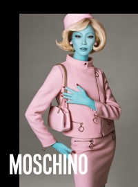 Soo-Joo Park  - Moschino new advertising campaing - Fall Winter 2018/19 collection