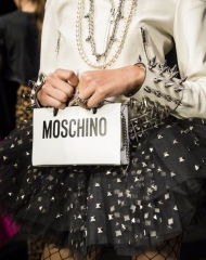 Moschino Backstage Spring Summer 2018 women's collection