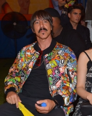 BURBANK, CA - JUNE 08:  Anthony Kiedis attends the Moschino Spring/Summer 19 Menswear and Women's Resort Collection at Los Angeles Equestrian Center on June 8, 2018 in Burbank, California.  (Photo by Donato Sardella/Getty Images for Moschino)