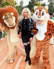 Gwen Stefani attends the Moschino Spring/Summer 19 Menswear and