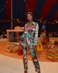 Justine Skye BURBANK, CA - JUNE 08:  Justine Skye attends the Moschino Spring/Summer 19 Menswear and Women's Resort Collection at Los Angeles Equestrian Center on June 8, 2018 in Burbank, California.  (Photo by Donato Sardella/Getty Images for Moschino)
