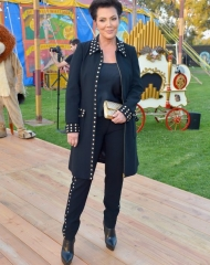 BURBANK, CA - JUNE 08:  Kris Jenner attends the Moschino Spring/Summer 19 Menswear and Women's Resort Collection at Los Angeles Equestrian Center on June 8, 2018 in Burbank, California.  (Photo by Donato Sardella/Getty Images for Moschino )