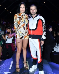 The Misshapes: Leigh Lezark and Geordon Nicol . Moschino special guests