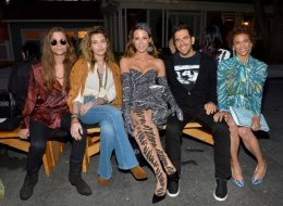 Gabriel Glenn, Paris Jackson, Kate Beckinsale, Eli Roth and Paula Patton