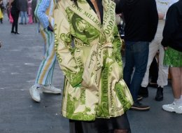 Liberty Ross attends the Moschino Spring/Summer 20 Menswear and Women's Resort Collection at Universal Studios Hollywood