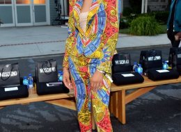 Storm Reid attends the Moschino Spring/Summer 20 Menswear and Women's Resort Collection at Universal Studios Hollywood