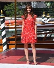 Annabelle Belmondo wore Ermanno Scervino shoes Pamela Tagliabue