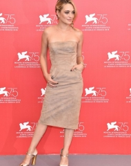 Carolina Crescentini wore Ermanno Scervino