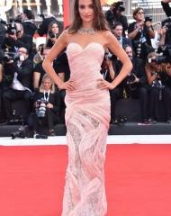 Gabrielle Caunesil wore Ermanno Scervino
