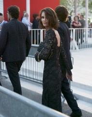 Chanel Mostra di Venezia Last Year at Marienbad Marine Vacth wore Chanel