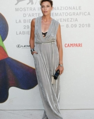 Anna Foglietta wore Bottega Veneta (photo by Eamonn M. McCormack)
