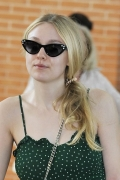 "Dakota Fanning in MIU MIU Eyewear .Dakota Fanning is an American actress. She became famous when she was a child for her wonderful interpretation in ""I am Sam"", after that she have continued to play in successful films and she is now considered, despite her young age, one of the most talented Hollywood actresses. At Venice she is presenting her first short-film as director, called ""Hello Apartment"" which is part of the Miu Miu's project Women's Tale"