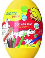 Giotto be be Stick&Color Eggs