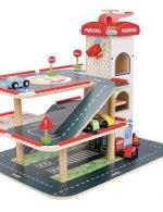 Wood n play city parking
