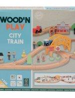 Wood n play packaging city train