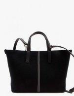 """Nosetta Fall Winter Carlia-Cotton-Canvas-Black - 2020/21 """"bags"""" collection"""
