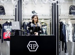 DJ Jade Rasif at PHILIPP PLEIN Singapore store opening at The Shoppes, Marina Bay Sands resort
