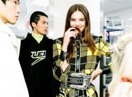 Philipp Plein Space backstage Cowboy Fall Winter 2019/20 collection