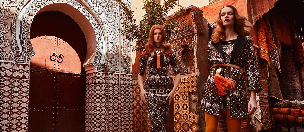 The heat of Marrakech through Nima Benati's lens