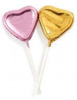 PRIMARK SS21 - Valentines Day Chocolate Heart Lolly 2 Pack
