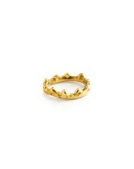 Giulia Barela anello coronetta bronzo