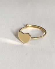 Je ne sais PA bijoux- anello cuore