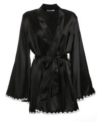 Lesara Kimono con orli a uncinetto