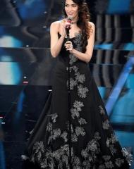 Nina Zilli in Vivienne Westwood . Sanremo 2018