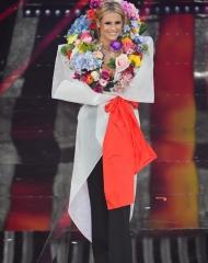 Michelle Hunziker in Moschino - 68 Festival di Sanremo