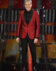 Claudio Baglioni in Ermanno Scervino . Sanremo 2018