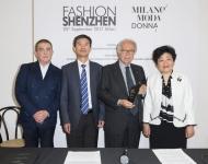 Francesco Fiordelli, XieJianmin, Paolo Panerai, Shen Yongfang Fashion Shenzhen