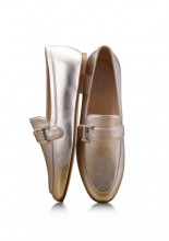 Tod's gold mocassin