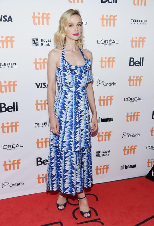Carey Mulligan wore Chanel at Toronto International Film Festival (photo by Amanda Edwards)
