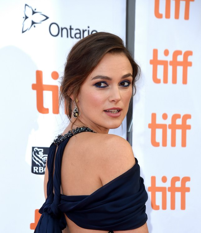 Keira Knightley wore Chanel at Toronto International Film Festival